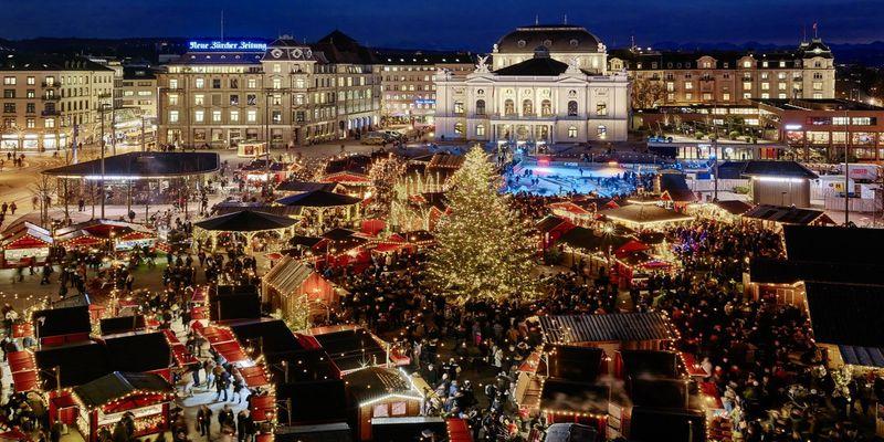 Ziemassvētku ceļojums uz Šveici.