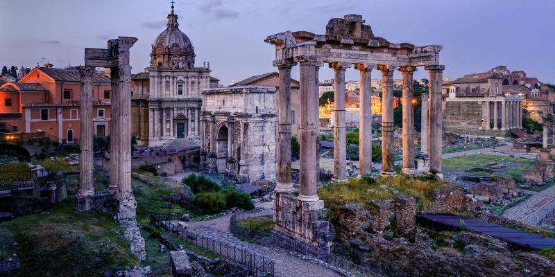 Lidojums uz Romu (Roma, Vatikāns, Neapole, Pompeji)