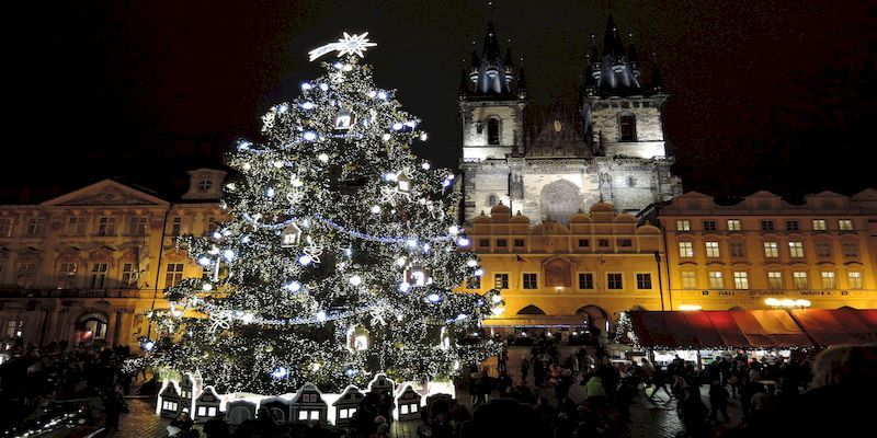 Jaunais gads Prāgā
