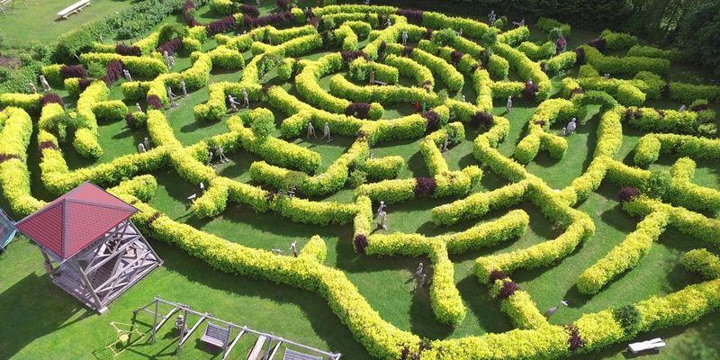 Smiltene, Beverīnas labirinti, Valmiera