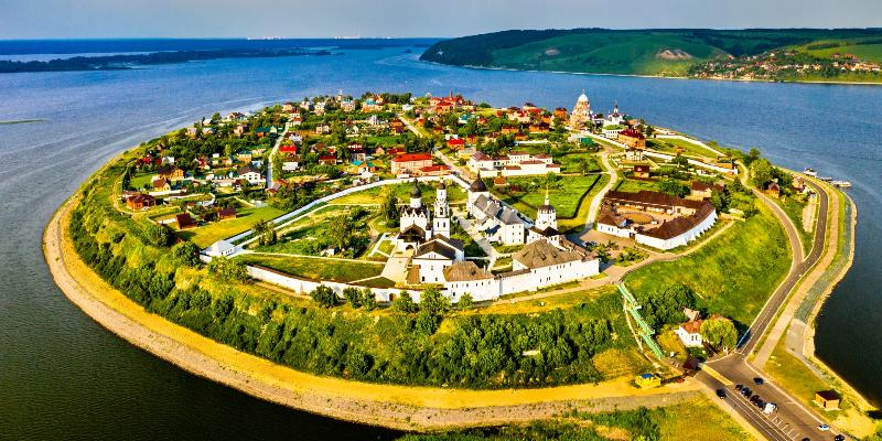 Казань - Свияжск - Йошкар-Ола - Нижний Новгород - Владимир